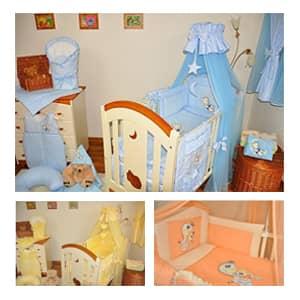 Otroška posteljnina - 6 delna akcija