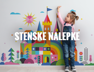 Igralne podloge - Otroške stenske nalepke - velika izbira