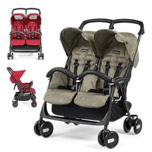 vozički za dvojčke Aria Twin Shopper