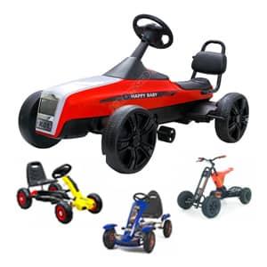 Avtomobili na pedala za otroke na voljo pestra ponudba po ugodni ceni.