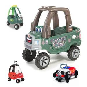 Super varni avtomobili poganjalci za prve korake in aktivno igro.