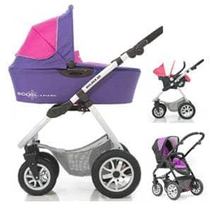 otroški vozički Bolder SD Ecoline