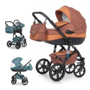 otroški vozički Brano NATURAL
