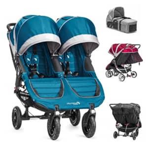 vozički za dvojčke City Mini Double