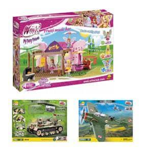 Kocke cobi - velika izbira otroških igrač cobi.