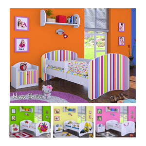 Otroška posteljica - Dimenzije 180x90 cm nizka cena