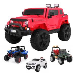 ogromna izbira baterijskih vozil za otroke.Električna vozila na akumulator dobavljiva v 4 tednih.