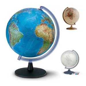 Na voljo so globusi v različnih velikostih, za vse potrebe po dostopnih cenah.