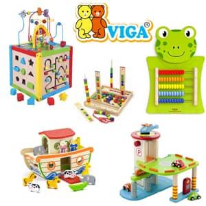 Lesene igrače Viga Toys po ugodni ceni