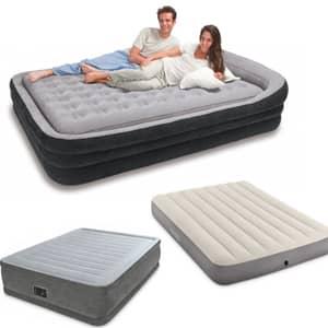Napihljive postelje proizvajalca intex dostopne v naši spletni trgovini.