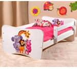 Otroške Posteljice Baby Dreams 140x70 - 160x80 - 180x80 cm