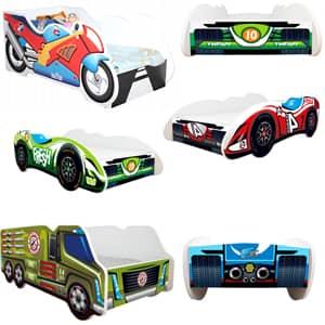 Otroške postelje avtomobili in Otroške Posteljice Avtomobili - Kamioni znižano