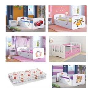 Otroške postelje Baby dreams velika ponudba.Otroške posteljica 180x80 cm po ugodnih cenah