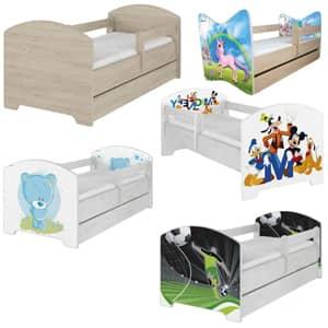 Otroške postelje avtomobil Dimenzije 140x70 cm