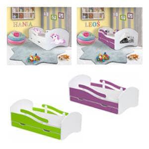 Otroška posteljica to i owo 160x80 cm.To i owo otroške posteljice 180x80 cm ogromna izbira.