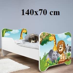 Otroške postelje avtomobili in Dimenzije 140x70 cm znižano