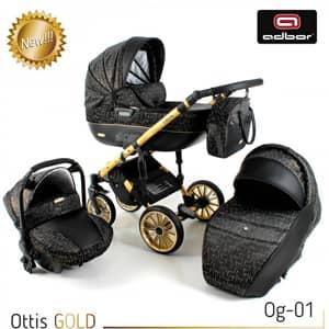 otroški vozički Ottis Gold