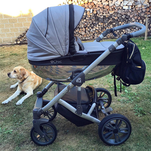otroški vozički Chic