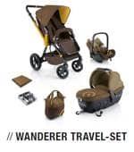 Wanderer Travel Set - KOMPLET