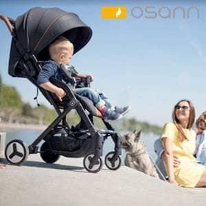 otroški vozički Osann