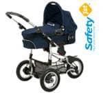 otroški vozički Ideal Sportive + Globoka Košara