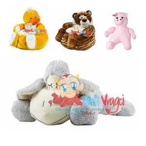 Na voljo so različne plišaste igrače, mehke in prikupne, različnih barv in modelov.