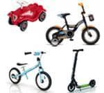 Poganjalci - Kolesa - Tricikli - Skiroji