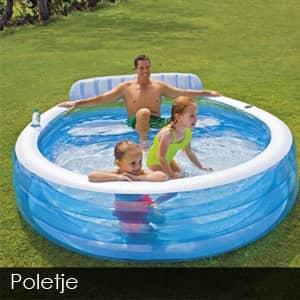 Napihljiva igrala - otroški bazeni  - napihljive blazine
