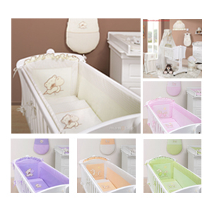 Otroška posteljnina - Posteljnina za Zibelke Mamo Tato akcija