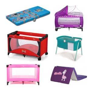 Prenosljive posteljice različnih blagovnih znamk ugodno.V naši ponudbi prenosljiva posteljica za otroke.