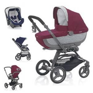otroški vozički Quad System