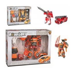 Roboti igrače z zanimivimi dodatki.Roboti igrače uporabni in varni za obilico zabave.