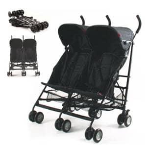 vozički za dvojčke Side by Side Rhine
