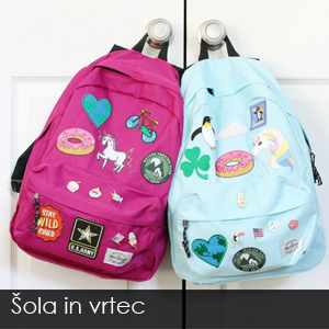 Šolske torbe in nahrbtniki - največja izbira pri nas po ugodni ceni