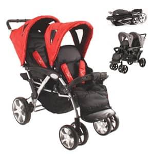 vozički za dvojčke Tandem Deluxe K74