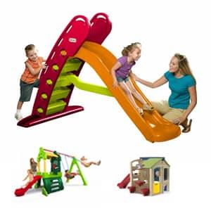 Tobogani za otroke so zabavni dolgi in igrivi.Tobogani so na voljo od različnih proizvajalcev.