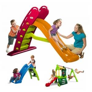 Otroški tobogani različnih dimenzij mali ali veliki za obilico smeha in zabave.Tobogani različnih cen in barv