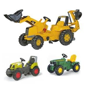 Bagri na pedala ogromna izbira proizvajalca rolly toys.Traktorji na pedala proizvajalca rolly toys.