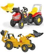Traktorji in Bagri na Pedala
