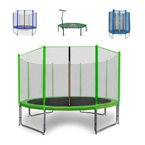 Trampolini za otroke omogočajo varno igro.Trampolini so na voljo od različnih proizvajalcev po nizki dostopni ceni.