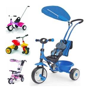 Tricikli za otroke pestra ponudba različnih modelov in barv po dostopni ceni.Tricikel za popestritev časa vašemu malčku.