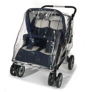 vozički za dvojčke Univerzalna Dežna Prevleka za Športni Del za Voziček za Dvojčke