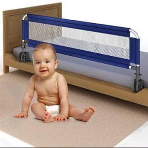 Varovalo za posteljo naj bo uporabno in zaščitno za vašega malčka.Posteljno varovalo za otroške postelje različnih dimenzij.