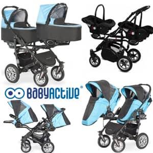 vozički za dvojčke BabyActive