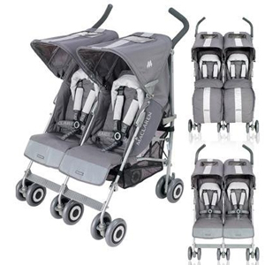 vozički za dvojčke Twin Techno