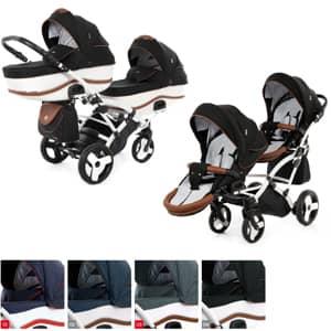 vozički za dvojčke Dalga Lift Duo Slim
