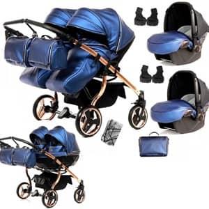 vozički za dvojčke Junama Fluo Line Duo