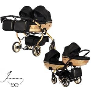 vozički za dvojčke Junama Mirror Satin Duo