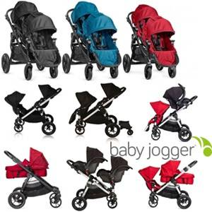 vozički za dvojčke Baby Jogger