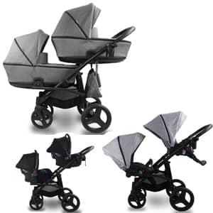 vozički za dvojčke bexa